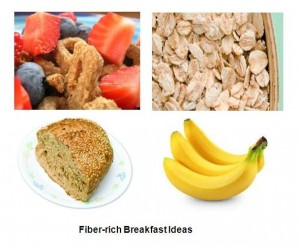 Fiber-rich breakfast ideas