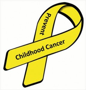 Yellow ribbon_Childhood cancer