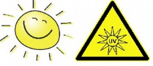 Sunlight vs. UV hazards