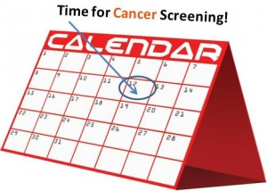 Time for cancer screening_Clipart library & CPD