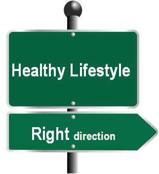 Healthy Lifestyle in Right direction_CPD-Clipart combo